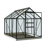 ACD tuinkas Ivy 5.0m2 - zwart – polycarbonaat