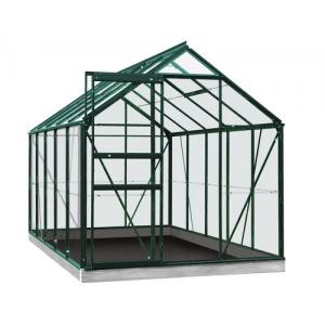 ACD tuinkas Lily 6.2m2 - groen – veiligheidsglas