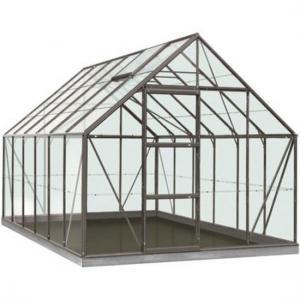 ACD tuinkas Oliver 9.9m2 - antraciet – veiligheidsglas