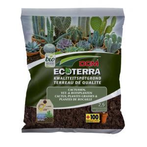 Ecoterra cactus en vetplanten potgrond