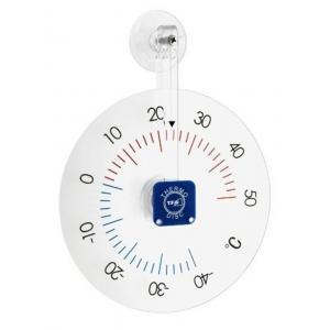 Venster buitenthermometer kunststof Thermo Disc 19.5 cm