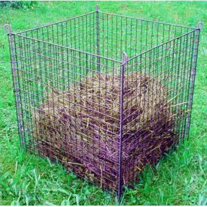 Compostkorf groen geplastificeerd