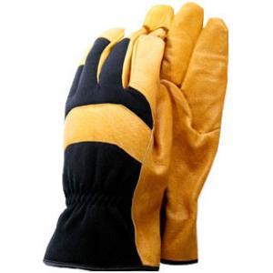 De-luxe soft leather werkhandschoenen