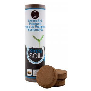 Potgrondtabletten Simply Soil 12 stuks