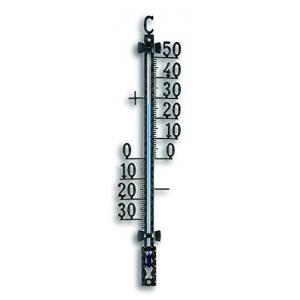Thermometer metaal zwart
