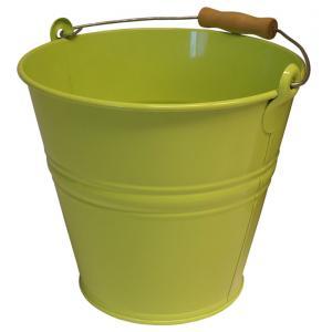 Zinken emmer 12 liter lime