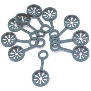 Ring voor het samenvoegen van 3 plantenstokken