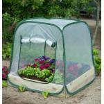 Beschermhoes voor vierkantemetertuin transparant