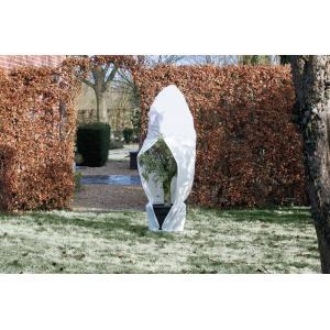 Winterafdekhoes met rits 70 g/m2 wit