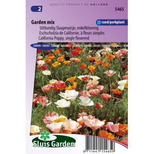 Uitbundig Slaapmutsje enkelbloemig bloemzaden - garden Mix