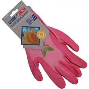 Tuinwerkhandschoen roze voor vrouwen