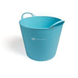 Flexibele kuip voor tuinafval blauw